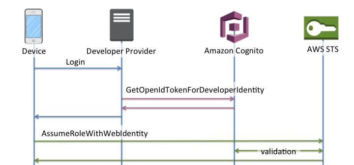 Developer Authentication Flow