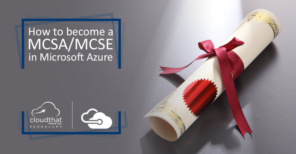 How To Become A Mcsa Mcse In Microsoft Azure Cloudthats Blog
