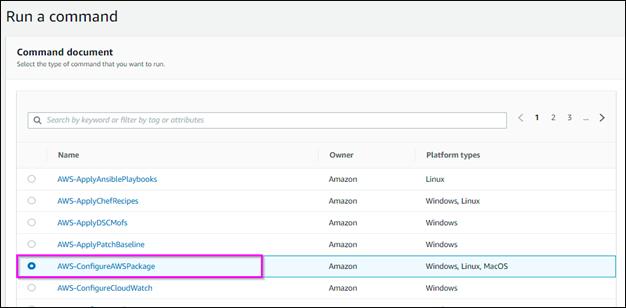 AWS-Configure-AWSPackage