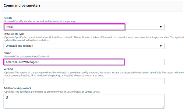 AWS-Configure AWS PAckage