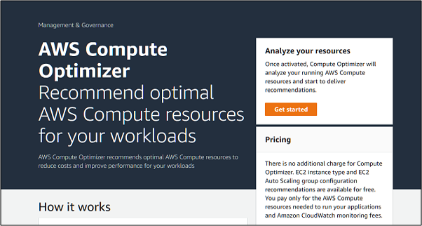 Learn to Optimize AWS Computing Resources using AWS Compute Optimizer Service