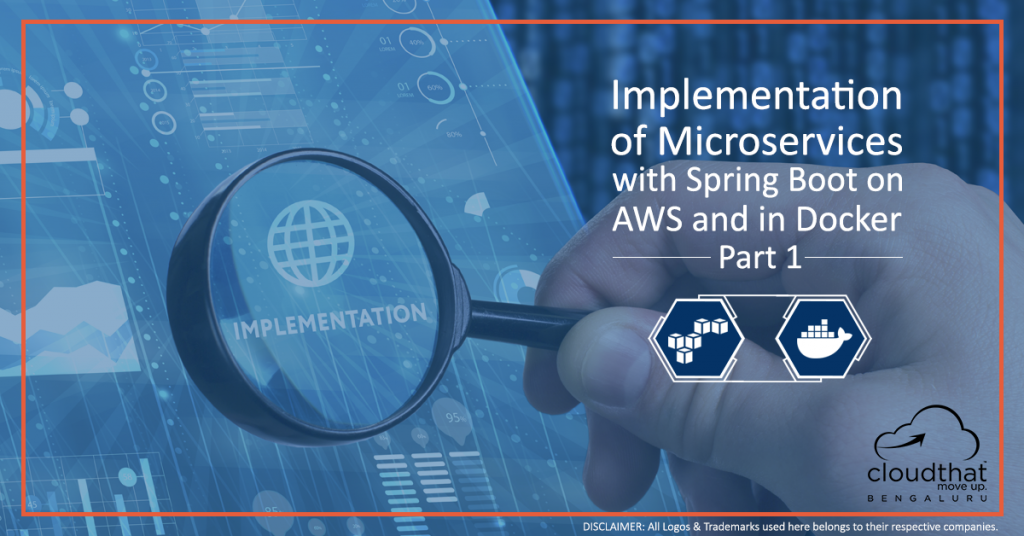 Implementation of Microservices with Spring Boot on AWS and in