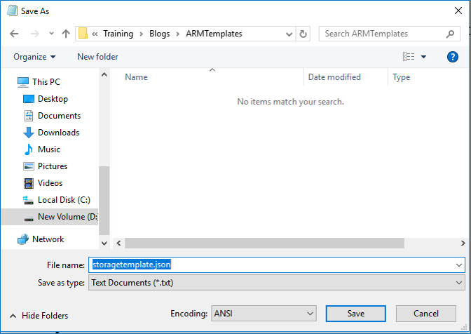 Getting Started with Authoring Azure ARM Template