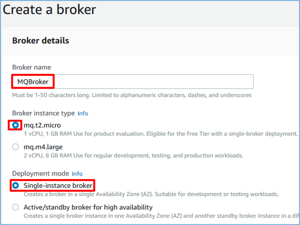 Single Broker Deployment